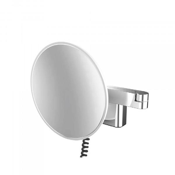 LED Rasier- und Kosmetikspiegel | mit Netzstecker