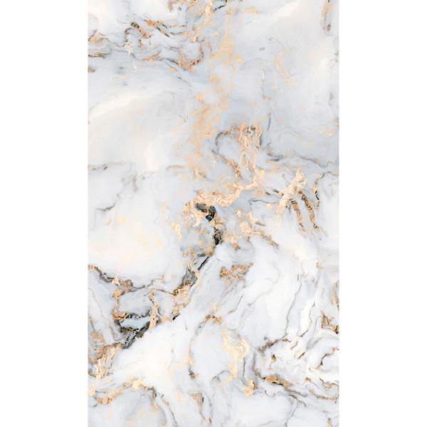 DK Rückwand Flat E Marmor Gold   Dekor: einseitig