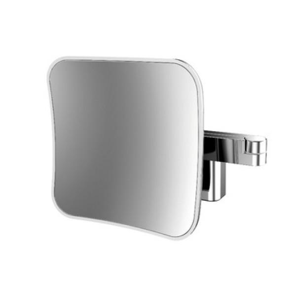Emco LED Rasier- und Kosmetikspiegel | 5-fach Vergrößerung