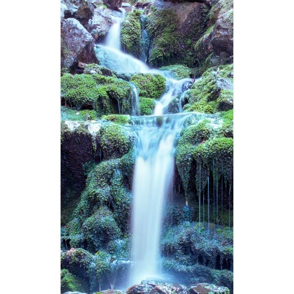 DK Rückwand Flat M in glanz oder matt | Magischer Wasserfall | Antibakterielle Oberfläche