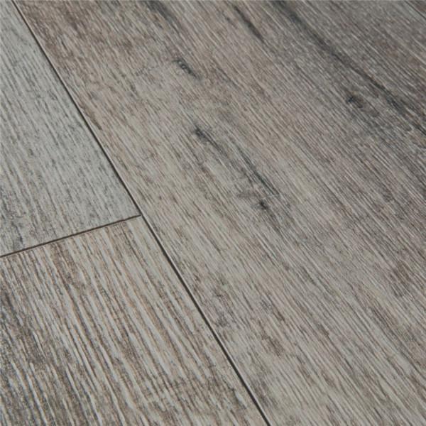 Klick Vinyl Design Boden Eiche gealtert grau| Holzdekor