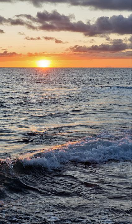 Dekor Sonnenuntergang (Flat E)