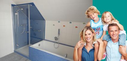 Kundenstimme des Duschking Kundens Herrn Schulte und Familie