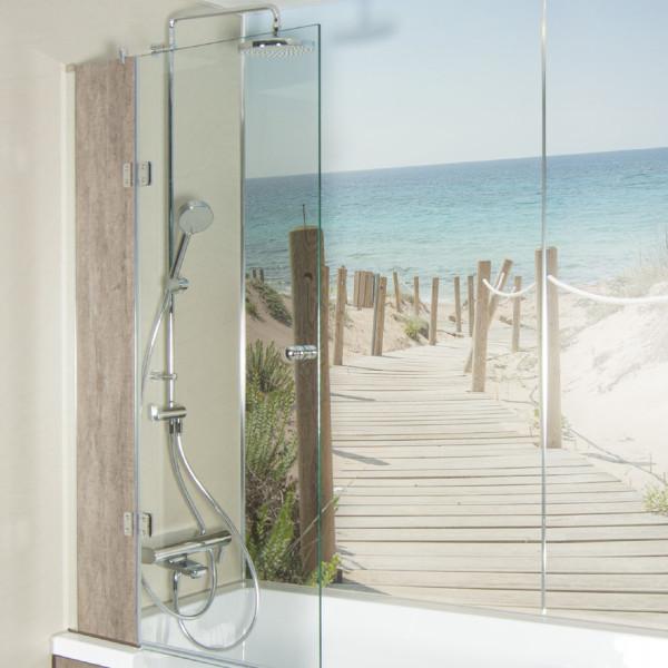 Glas-Duschlösung / Royal-Duschlösung | Zubehör Doppia Dusch- Badewanne