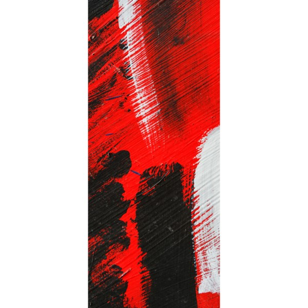 DK Rückwand Flat M in glanz oder matt | Abstrakt rot | Antibakterielle Oberfläche