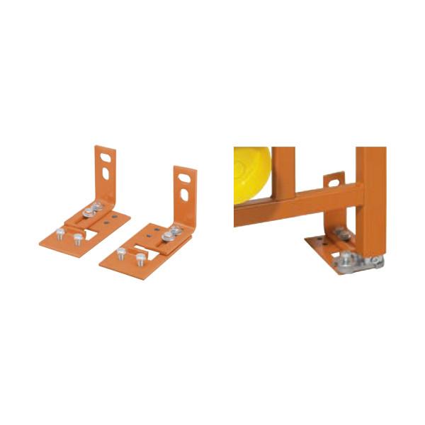 Spezial-Fußstützen zum Einsatz für Trockenbau-Elemente auf Fußböden